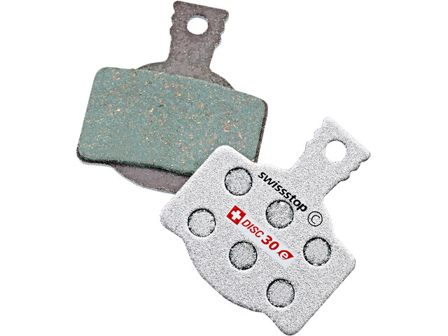 SwissStop Disc 30e Brake Linings for Magura/Campagnolo E-Bike, green